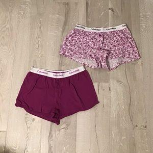 Set of 2 Calvin Klein Lounge Shorts